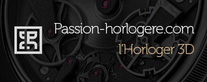 Passion horlogère parle de l'horloger 3D