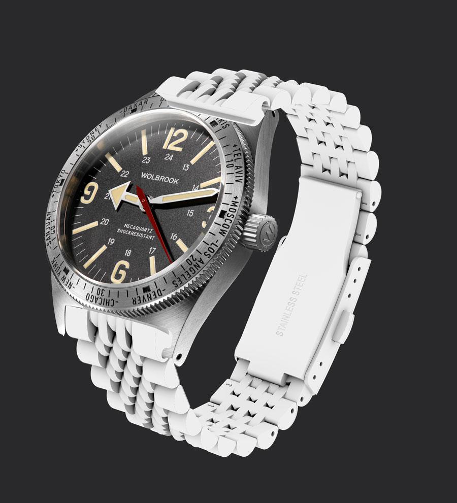 bracelet 3D et photo du boitier wolbrook avant apres